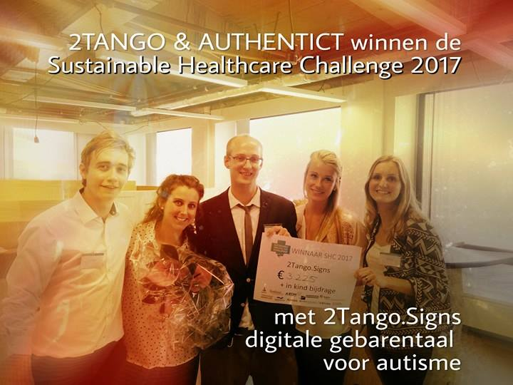 sustainable healthcare challenge winnaar 2tango 2017